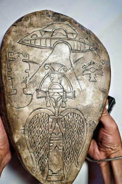 Phát hiện bằng chứng nền văn minh Maya đã tiếp xúc với người ngoài hành tinh đầu tiên - Ảnh 1