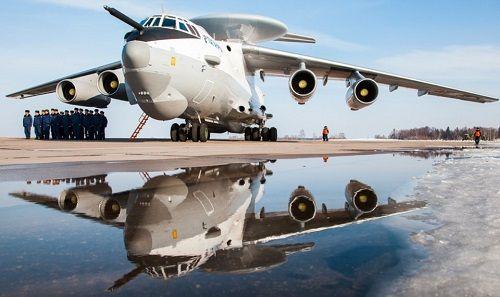 Khám phá siêu máy bay do thám A-50U của Nga ở Syria có thể gây nhiễu tàu Mỹ - Ảnh 1