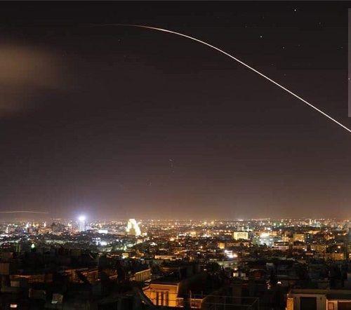 Những hình ảnh đầu tiên về cuộc tấn công của Mỹ ở Syria - Ảnh 5