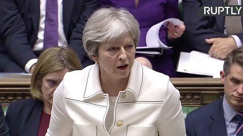 Thủ tướng Anh Theresa May điều trần trước Quốc hội vì cuộc không kích Syria - Ảnh 1