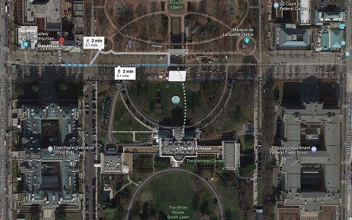 Bên trong nhà khách Tổng thống Mỹ - 'khách sạn sang chảnh nhất thế giới'  - Ảnh 2