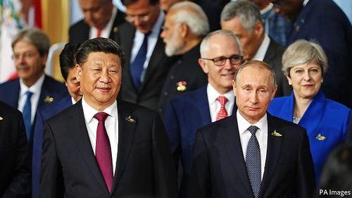 Bí mật mối quan hệ Nga - Trung trong ván bài với phương Tây - Ảnh 1