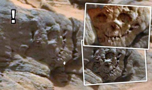 Hộp sọ hóa thạch trên sao Hỏa là bằng chứng của người ngoài hành tinh cổ đại? - Ảnh 1