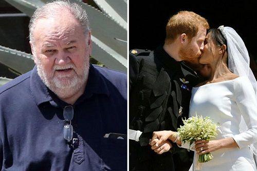 Bố vợ Hoàng tử Harry tiếc nuối vì không thể dự đám cưới con gái - Ảnh 1