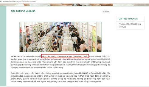 Mumuso Việt Nam nói gì sau khi bị tố bán hàng Trung Quốc gắn mác Hàn Quốc - Ảnh 5