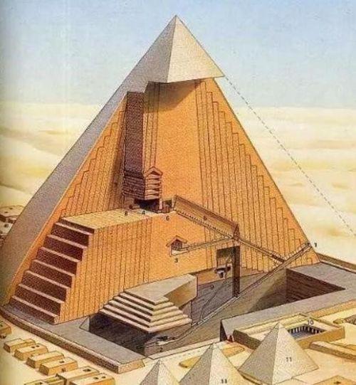 Khám phá bí ẩn khiến cho Kim tự tháp Ai Cập không thể sụp đổ dù đã trải qua hàng nghìn năm - Ảnh 6