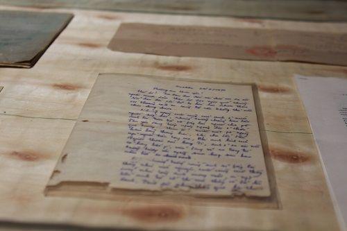 """Học sinh trường Lương Thế Vinh làm triển lãm """"Dấu ấn"""" tưởng nhớ thầy Văn Như Cương - Ảnh 6"""