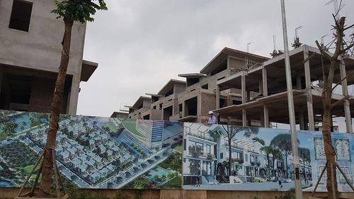 """Khai Sơn Hill """"vô tư"""" xây 26 biệt thự không giấy phép  - Ảnh 2"""