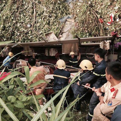 Xe khách lao xuống vực ở Cao Bằng: Khẩn trương điều tra nguyên nhân  - Ảnh 1