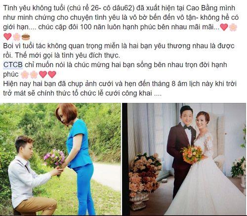 Cặp đôi chồng 26, vợ 61 tuổi ở Cao Bằng: Chính quyền địa phương nói gì? - Ảnh 1