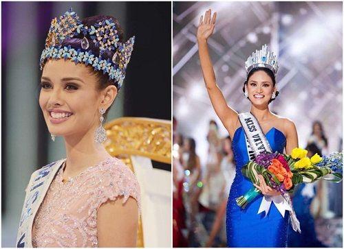 Hoa hậu Hoàn vũ Pia Wurtzbach và Hoa hậu Thế giới Megan Young chuẩn bị đến Việt Nam - Ảnh 3