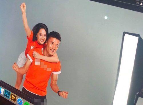 Bảo Anh đính chính về tin đồn hẹn hò chàng thủ môn U23 Bùi Tiến Dũng - Ảnh 1