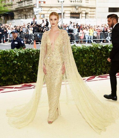 Ngắm loạt sao Hollywood lộng lẫy trên thảm đỏ Met Gala 2018 - Ảnh 7