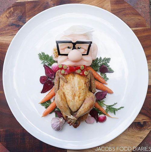 """""""Hô biến"""" những đĩa thức ăn nhàm chán thành nhân vật hoạt hình - Ảnh 2"""