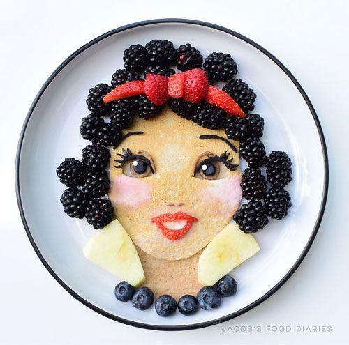 """""""Hô biến"""" những đĩa thức ăn nhàm chán thành nhân vật hoạt hình - Ảnh 4"""