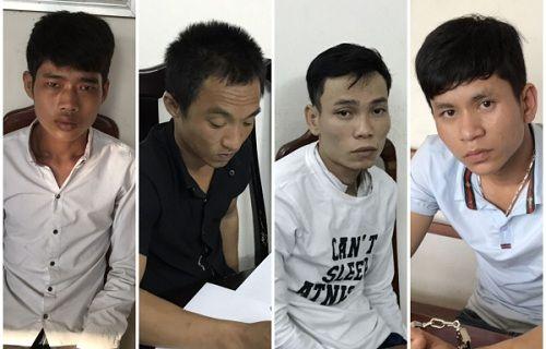 """Bắt 4 đối tượng trộm két sắt, """"cuỗm"""" hơn 1 tỷ đồng - Ảnh 1"""