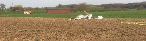 Rơi máy bay ở Đức, ít nhất 2 người thiệt mạng - Ảnh 1