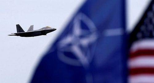 Chiến đấu cơ của NATO tập trận trên bầu trời biển Baltic - Ảnh 1
