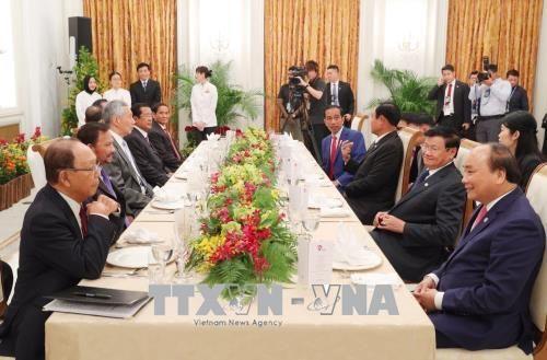 Thủ tướng Nguyễn Xuân Phúc dự Phiên họp toàn thể Hội nghị cấp cao ASEAN - Ảnh 2