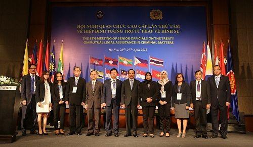Hội nghị quan chức cao cấp Hiệp định tương trợ tư pháp về hình sự giữa các nước ASEAN - Ảnh 1