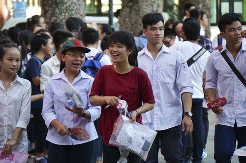 Một số trường đại học đã có điểm chuẩn dự kiến dù chưa chấm xong bài thi THPT quốc gia 2018 - Ảnh 1