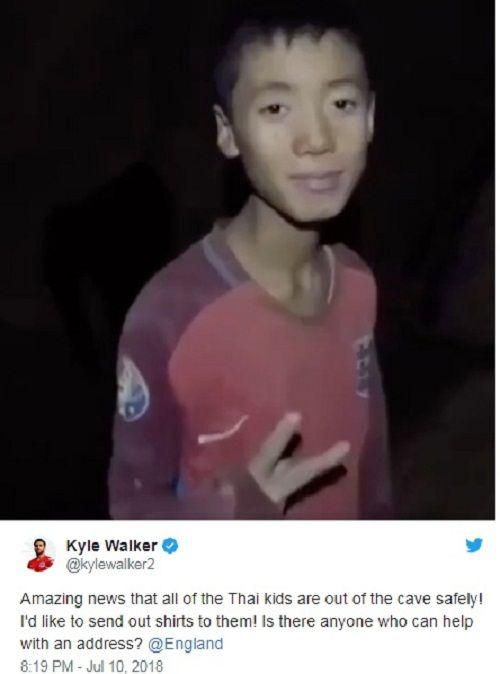 Những món quà bất ngờ các sao World Cup gửi đến đội bóng nhí Thái Lan - Ảnh 2