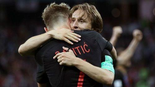 """Trước trận chung kết Pháp - Croatia: Sự đáng sợ của """"cặp đôi sóng sát"""" Modric – Rakitic  - Ảnh 2"""
