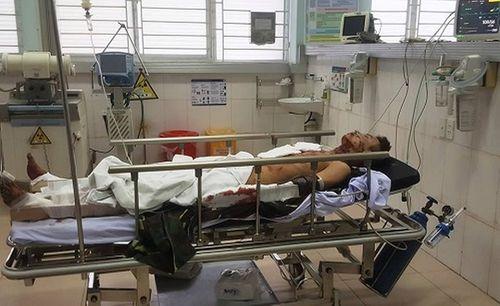Cấp cứu thanh niên ở Hải Phòng bị vỡ lồng ngực, mất tay vì bình gas mini phát nổ - Ảnh 1