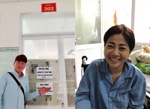 Sỹ Luân tiết lộ quá trình điều trị của Mai Phương đang có chuyển biến tốt - Ảnh 1