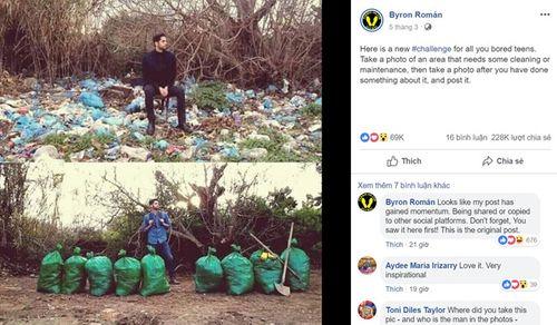 Giới trẻ trên khắp thể giới tham gia 'thử thách dọn rác' - Ảnh 1