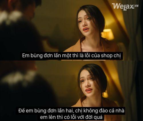 """Câu nói """"đắt giá"""" nhất trong MV của Hương Giang đã trở nên 'lầy lội' khi vào tay cư dân mạng - Ảnh 2"""