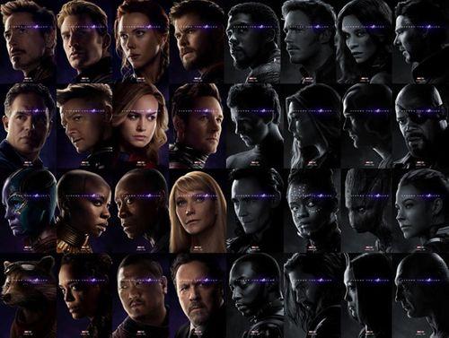 'Avengers: Endgame' chính thức công bố 32 poster nhân vật còn sống và tan biến - Ảnh 1