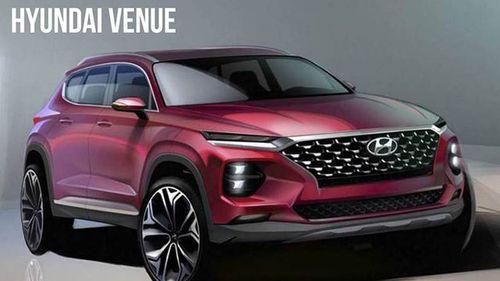"""Cận cảnh mẫu crossover Venue """"nhỏ mà có võ"""" của Hyundai sắp trình làng - Ảnh 1"""