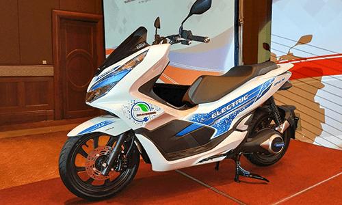 Lộ diện mẫu xe máy điện PCX Electric của Honda tại Việt Nam - Ảnh 1