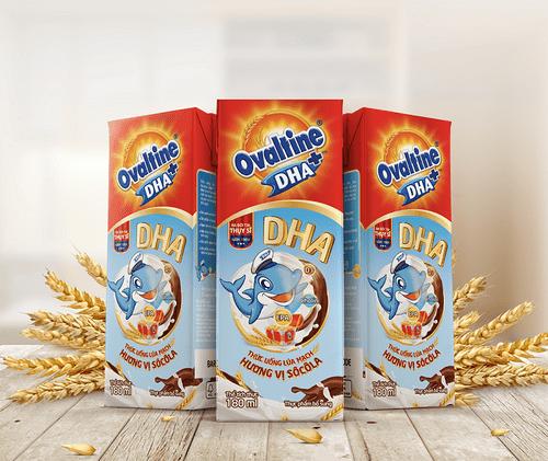 Ovaltine lần đầu tiên ra mắt sản phẩm ca cao lúa mạch có chứa DHA - Ảnh 1