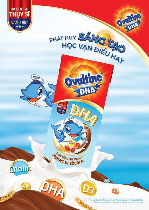 Ovaltine lần đầu tiên ra mắt sản phẩm ca cao lúa mạch có chứa DHA - Ảnh 2
