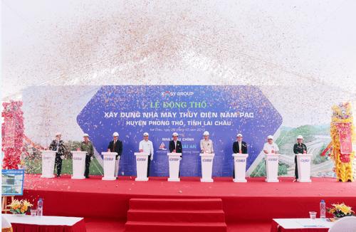Tập đoàn Kosy khởi công dự án thủy điện trên 1.000 tỷ đồng - Ảnh 2