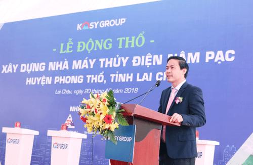 Tập đoàn Kosy khởi công dự án thủy điện trên 1.000 tỷ đồng - Ảnh 1