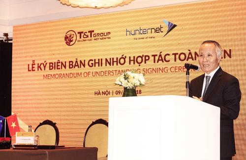 Tập đoàn T&T Group ký kết biên bản ghi nhớ hợp tác toàn diện với hiệp hội doanh nghiệp HunterNet (Australia) - Ảnh 2
