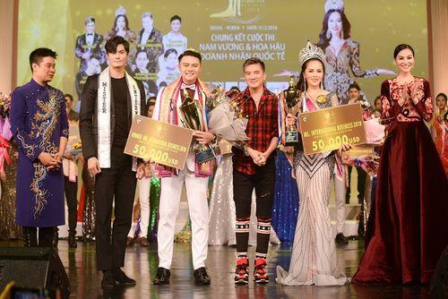 Mãn nhãn với đêm chung kết Nam vương và Hoa hậu Doanh nhân Quốc tế tại Hàn Quốc - Ảnh 1