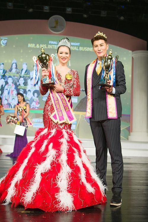 Mãn nhãn với đêm chung kết Nam vương và Hoa hậu Doanh nhân Quốc tế tại Hàn Quốc - Ảnh 5