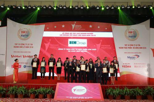 BIM Group đạt thứ hạng cao trong top doanh nghiệp lợi nhuận tốt nhất Việt Nam 2018 - Ảnh 1