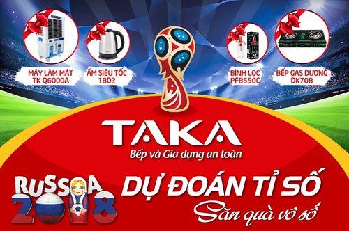 Khuấy động World Cup cùng cơn lốc quà tặng từ TAKA - Ảnh 3