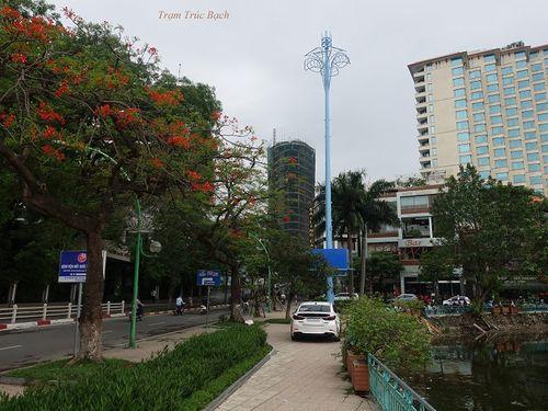 """Ý nghĩa đặc biệt của """"những cây cột màu xanh"""" giữa thủ đô - Ảnh 10"""