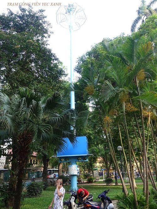 """Ý nghĩa đặc biệt của """"những cây cột màu xanh"""" giữa thủ đô - Ảnh 3"""
