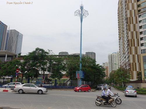 """Ý nghĩa đặc biệt của """"những cây cột màu xanh"""" giữa thủ đô - Ảnh 4"""