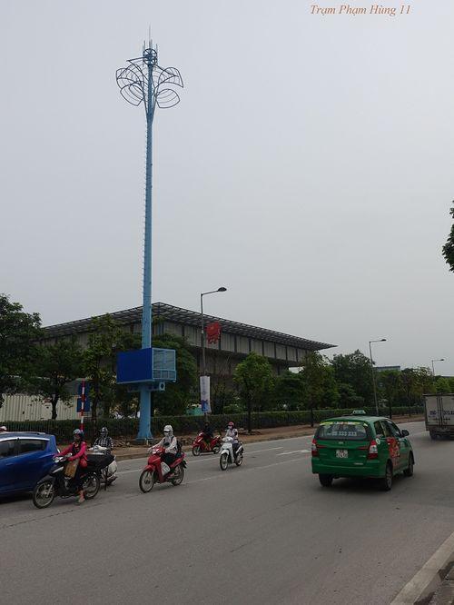 """Ý nghĩa đặc biệt của """"những cây cột màu xanh"""" giữa thủ đô - Ảnh 8"""