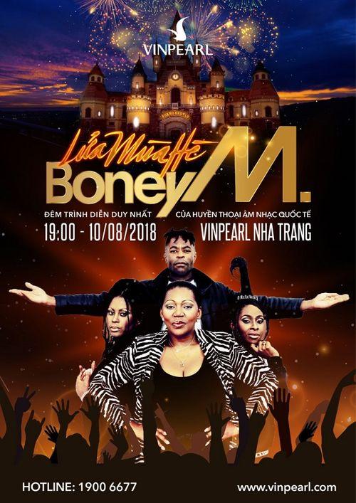 """""""Lửa mùa hè"""" – Liveshow Boney M đầu tiên tại Việt Nam - Ảnh 4"""