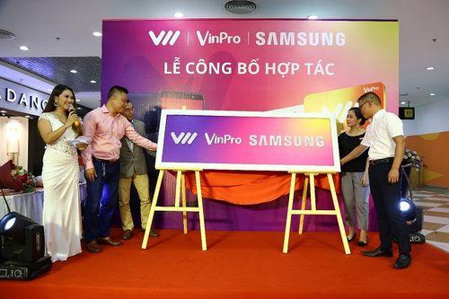 """VinPro, Samsung, Vietnamobile tạo """"Liên minh không tưởng"""": Lợi nhất là khách hàng - Ảnh 1"""