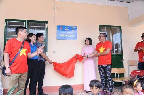 Đoàn thiện nguyện dự án xây dựng trường tiểu học Tà Moong tổ chức lễ khánh thành trước thềm năm học mới - Ảnh 5